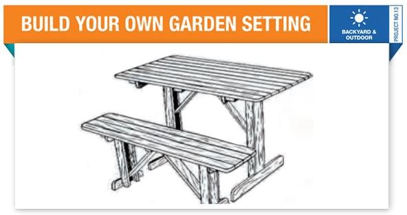 DIY-Garden-Setting